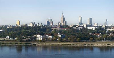 image Warsaw skyline