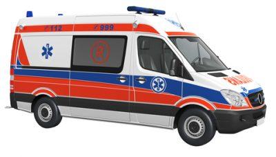 Ambulance is karetka in Polish