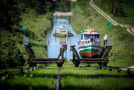 image Elblag canal boats