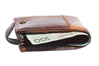 image zloty in wallet