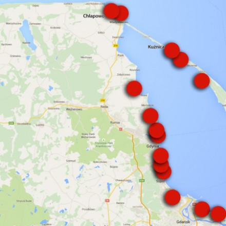 Where not to swim on the Baltic coast
