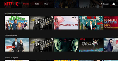image Netflix screen shot
