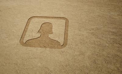image blank social media