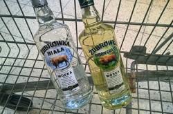 Żubrówka world's 3rd best selling vodka