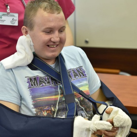Polish man has both hands reattached, successfully