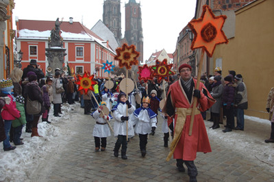 An Epiphany parade in Poland