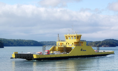 the project of the new P310 ferry by CRIST S.A.