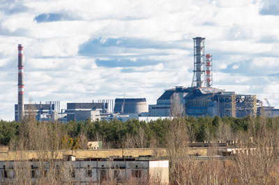 The Chernobyl power plant in 2012