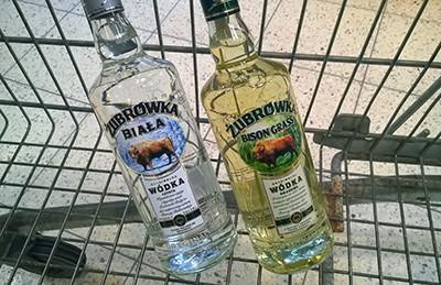 Żubrówka - one of the most famous Polish vodkas