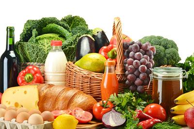 groceries food