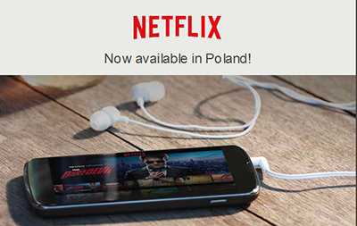 image Netflix now in Poland