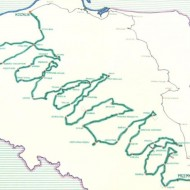 65yo widower cycles 5730km across Poland to spell out his wife's name on the map