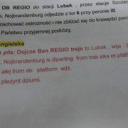 Polish Railways make train platform announcements in English using comical phonetic cheat sheets