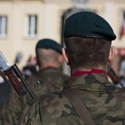 Drunken Polish army officers dishonourably discharged for beating up policemen