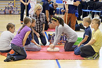 Kids are taught to do CPR without hesitation