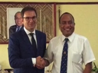 First Polish ambassador in Kiribati