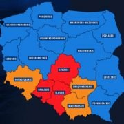 Flood warnings for the South of Poland this weekend – April/May 2017